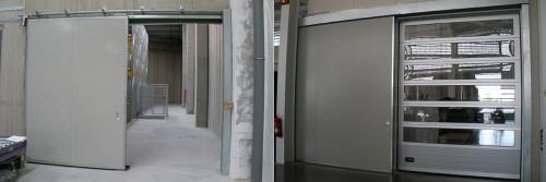Industrijska stranska drsna vrata